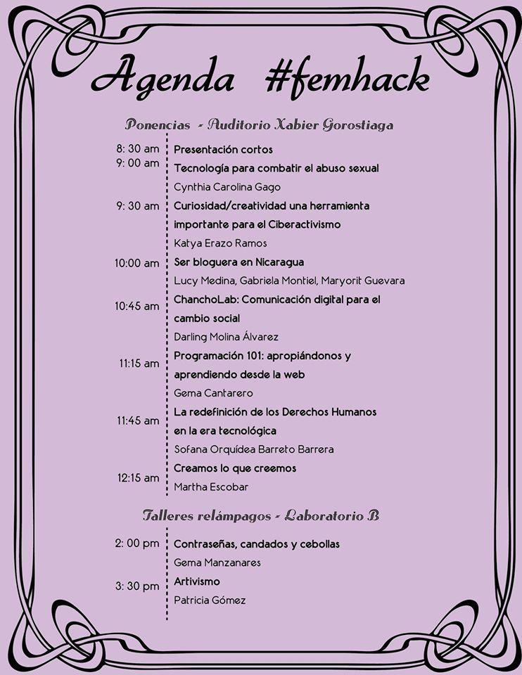 FemHack_Agenda