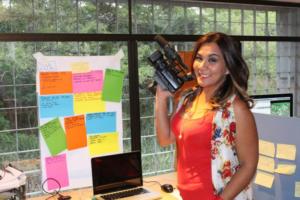 Tania Ortega, productora audiovisual nos invita a dialogar sobre contenidos para niñas, niños y adolescentes.